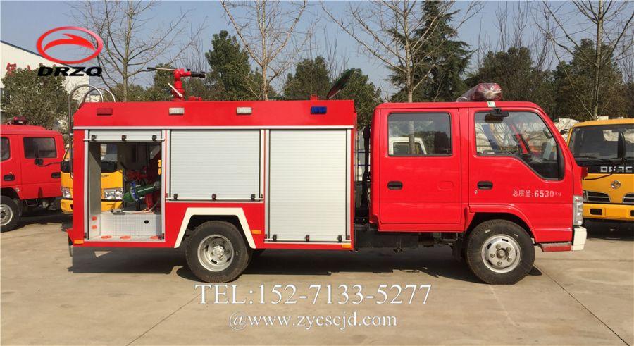 2吨五十铃100P水罐消防车