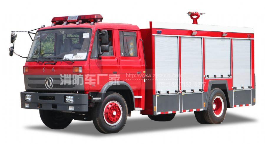专职队专用东风6吨水罐消防车
