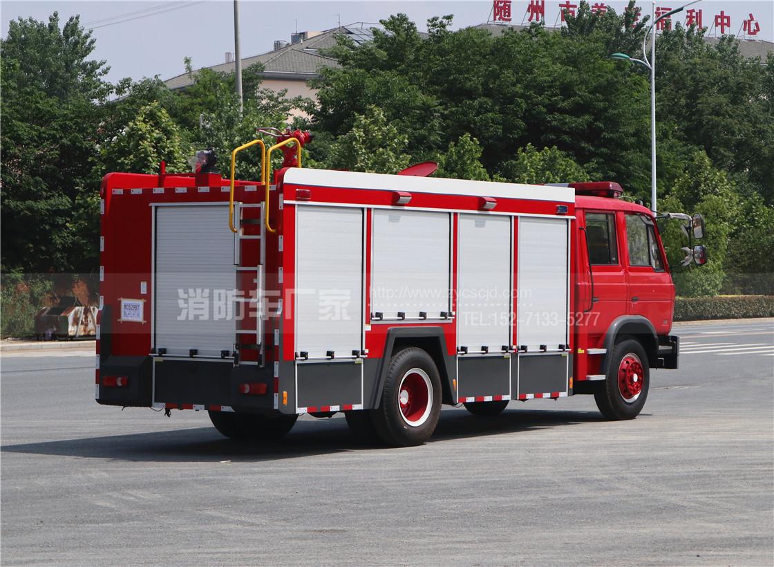 6吨东风153水罐消防车