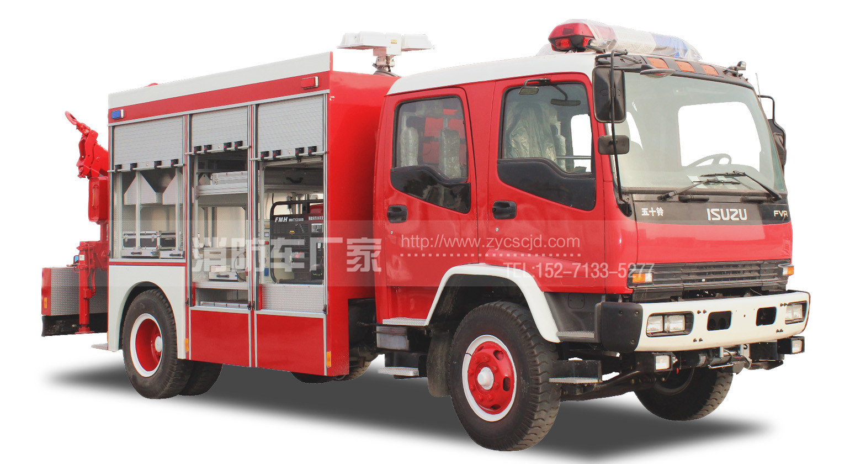 五十铃抢险救援消防车