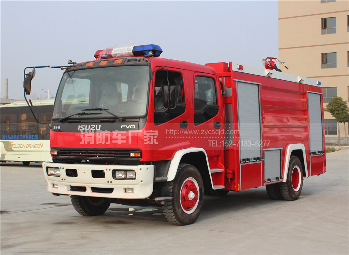 8吨五十铃泡沫消防车