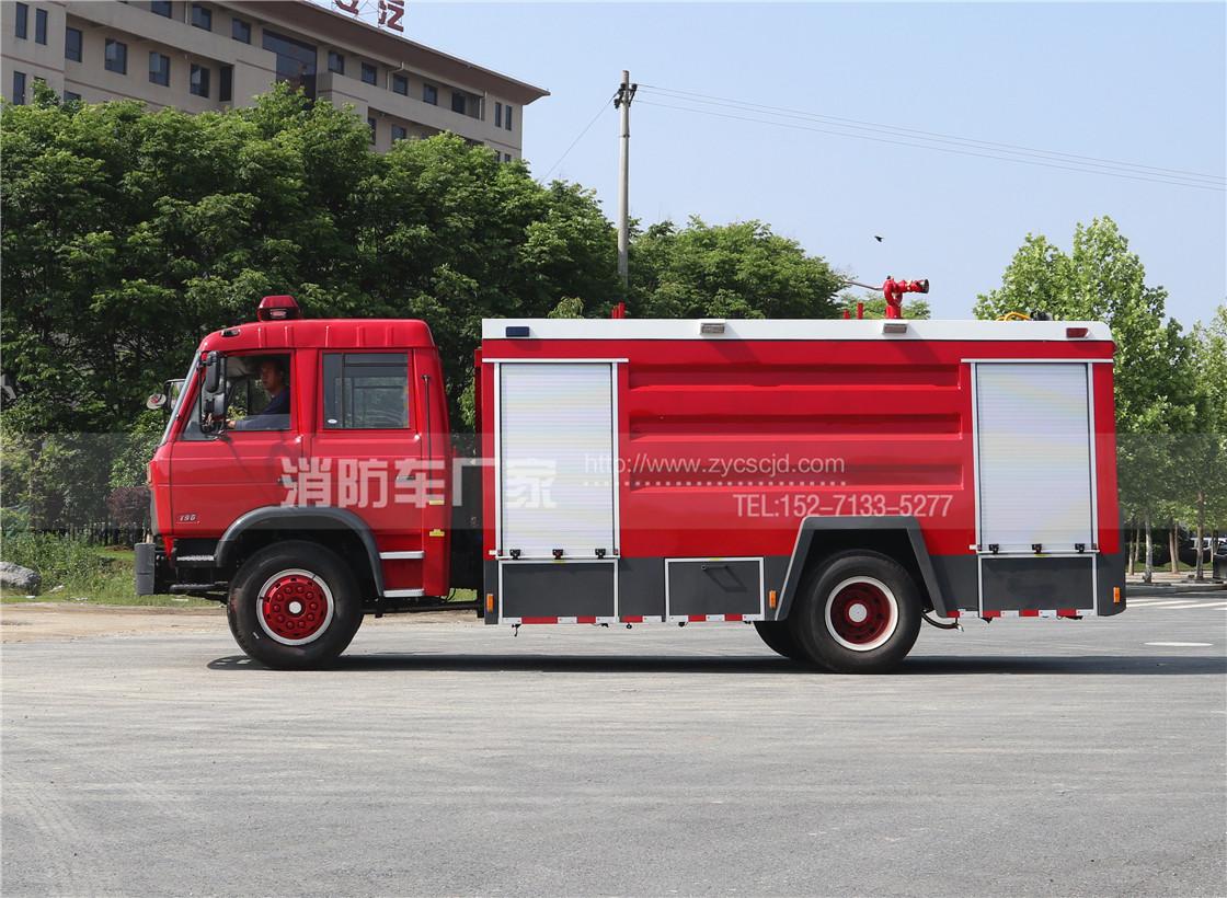 8吨中型水罐消防车【东风】