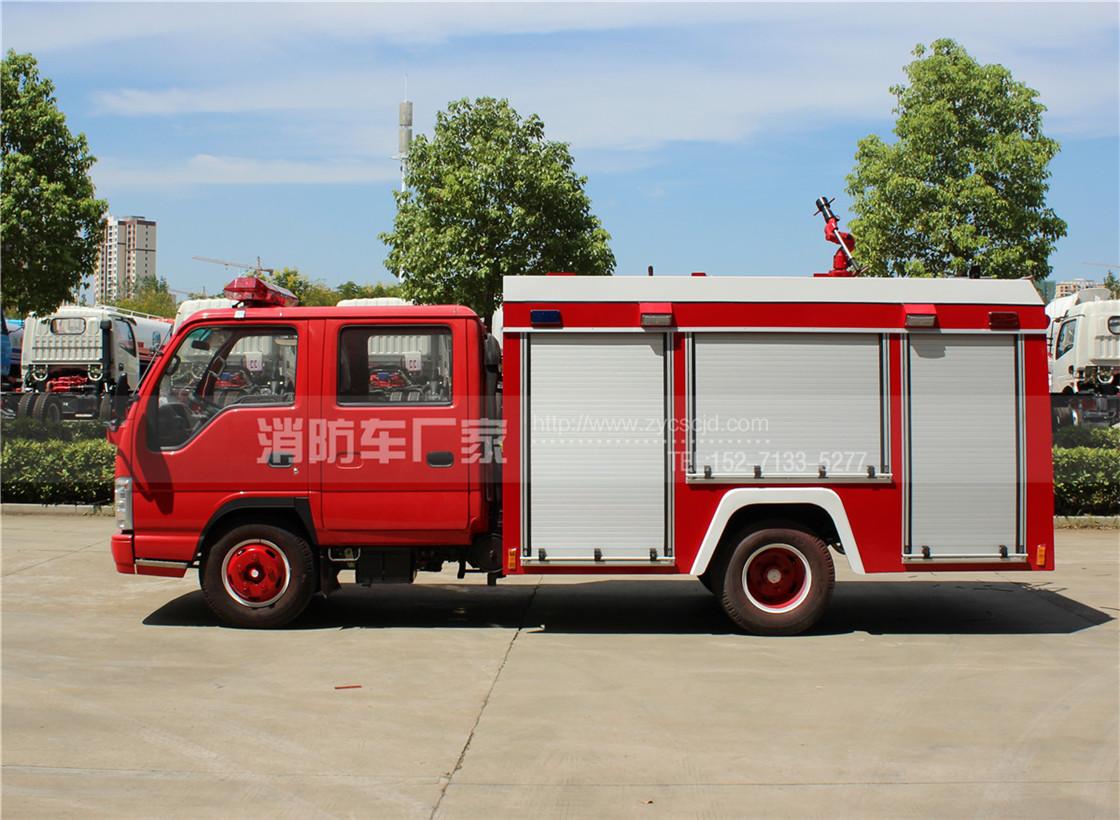 2吨小型水罐消防车【五十铃】