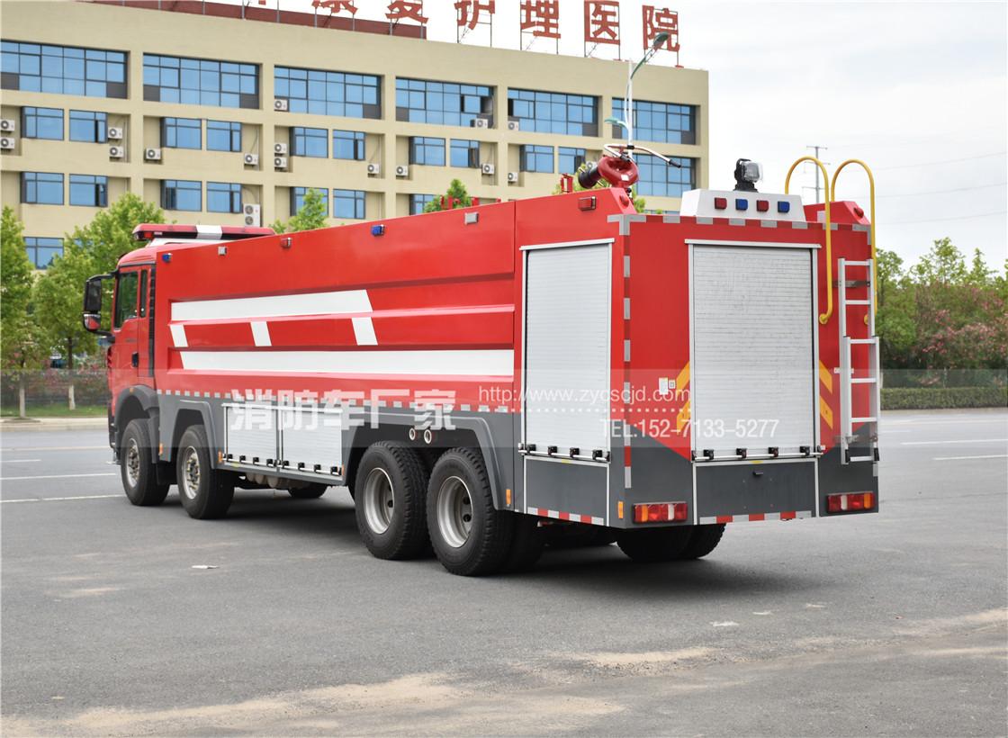 【重汽牌】豪沃25吨水罐消防车