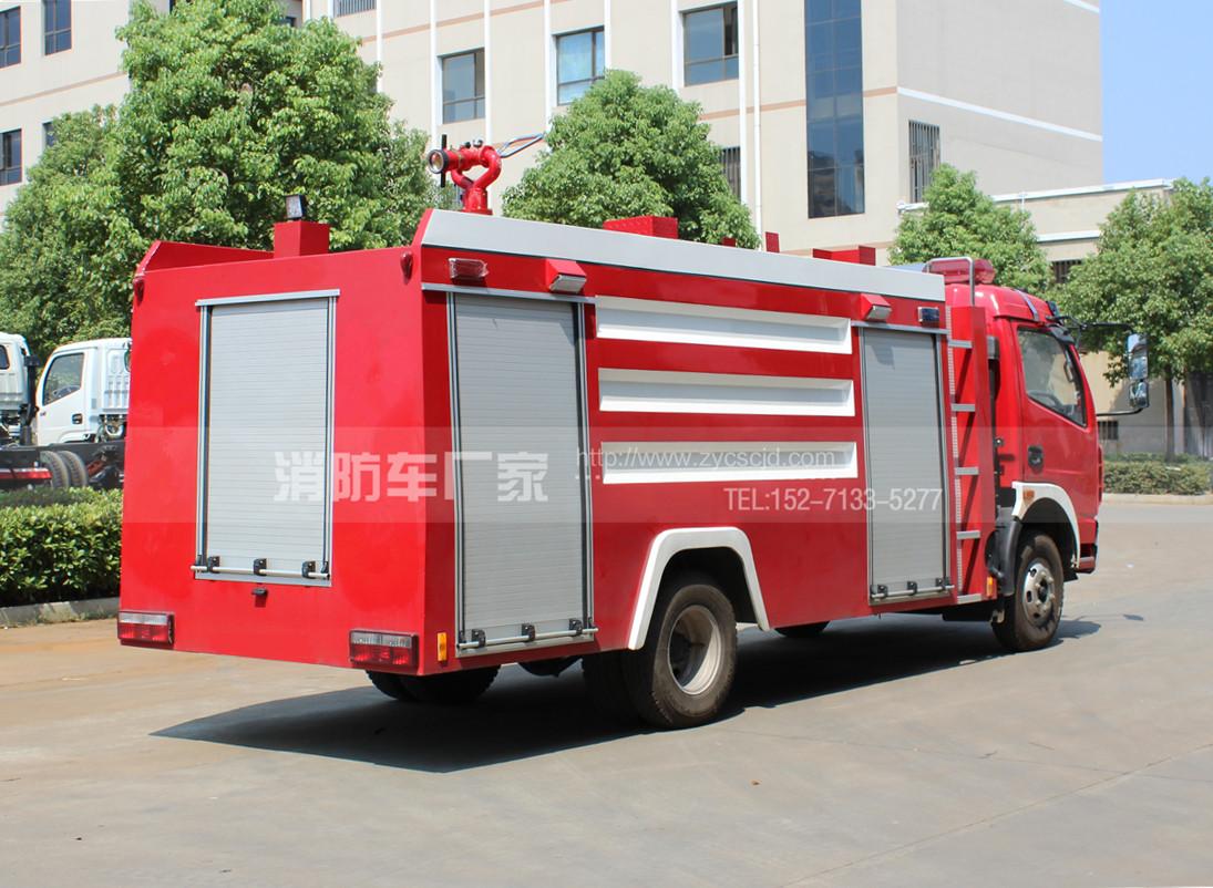 5吨水罐消防车【东风单排】