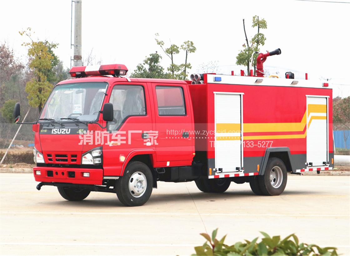 【五十铃】600P 4吨水罐消防车