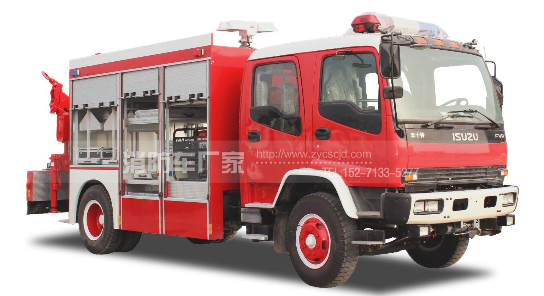 【五十铃】抢险救援消防车