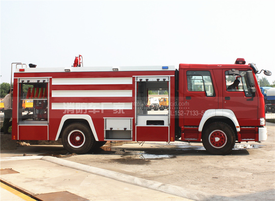10吨重型水罐消防车【重汽】