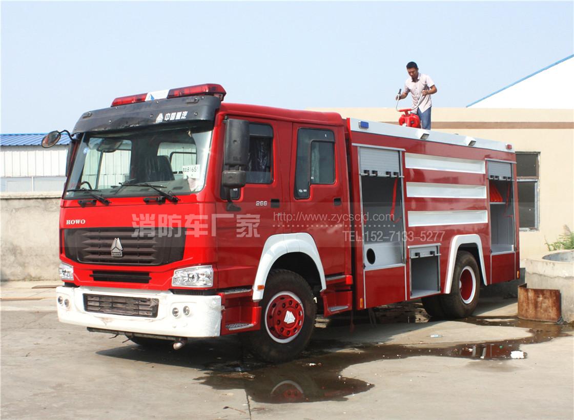 10吨重型泡沫消防车【重汽】