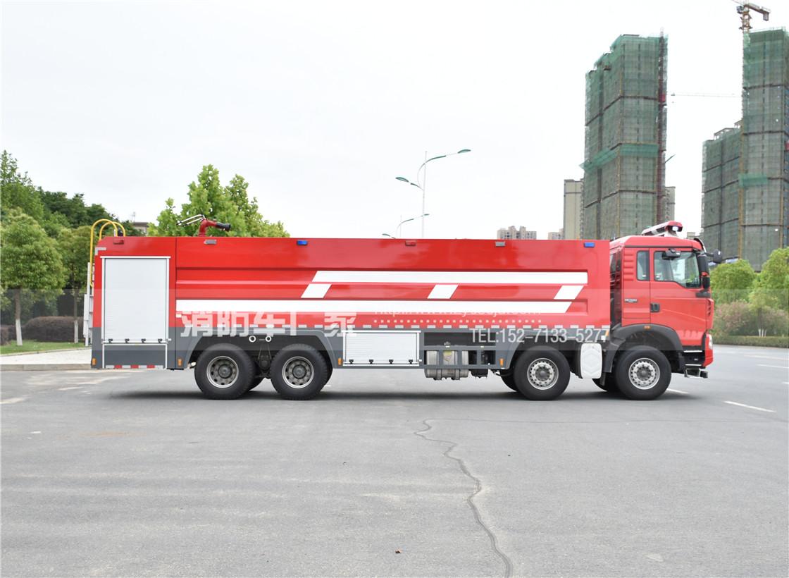 25吨重型泡沫消防车【重汽】