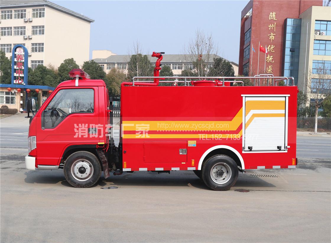 2吨微型水罐消防车【福田经典款】
