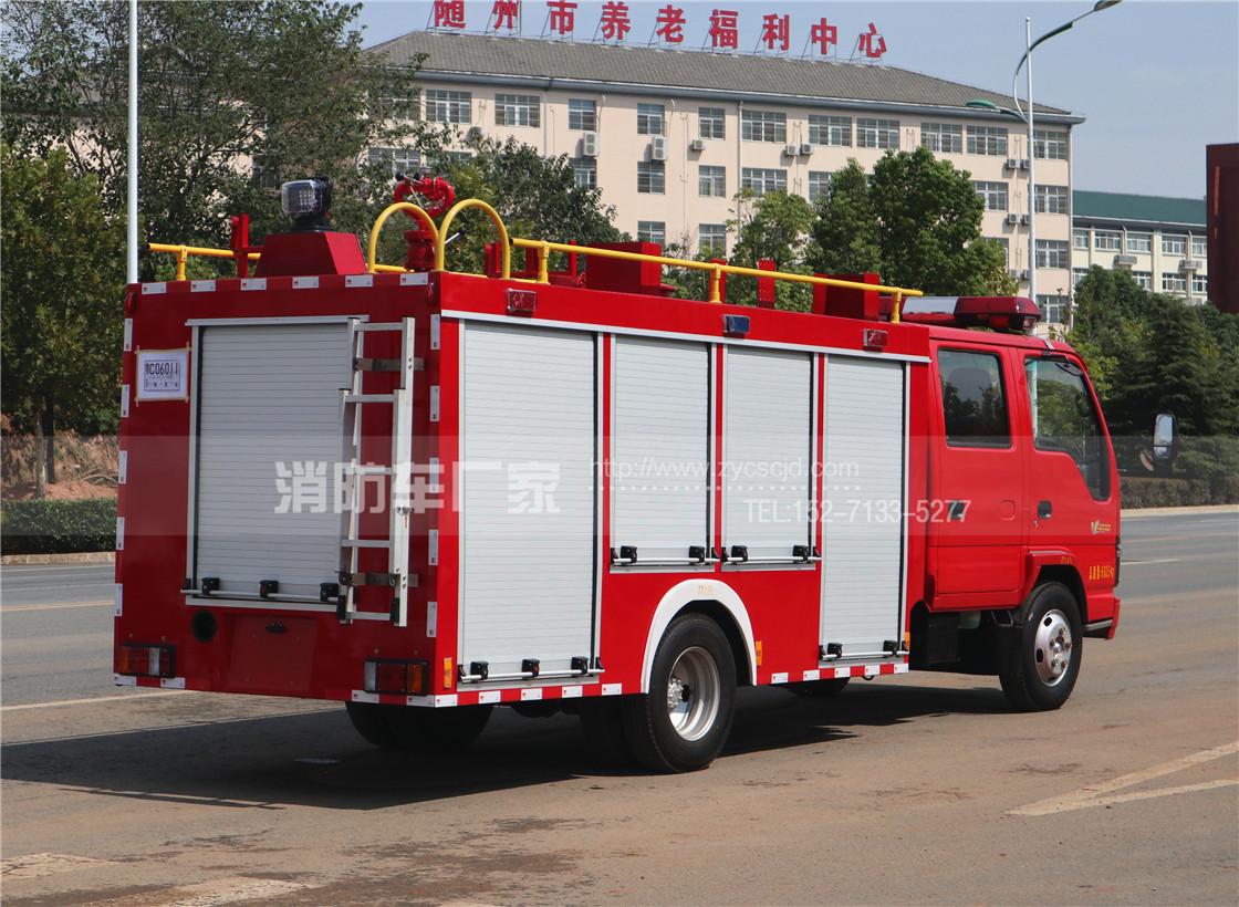 五十铃2.5吨水罐消防车
