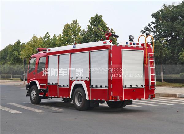 国五五十铃6吨泡沫消防车