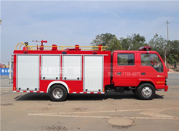 国五五十铃600P 2.5水罐消防车