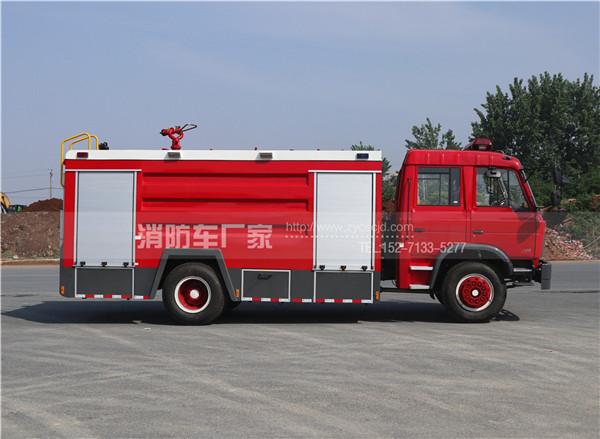 8吨东风153双排水罐消防车