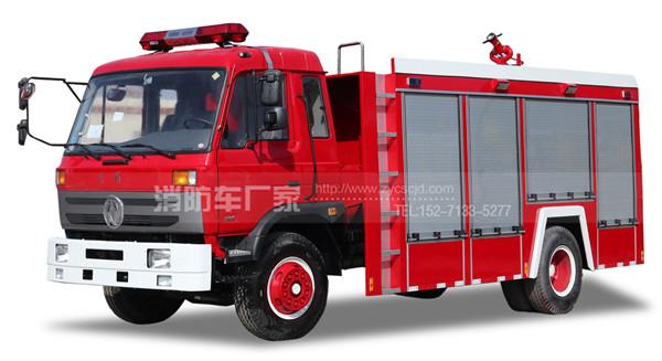 6吨东风153单排座水罐消防车