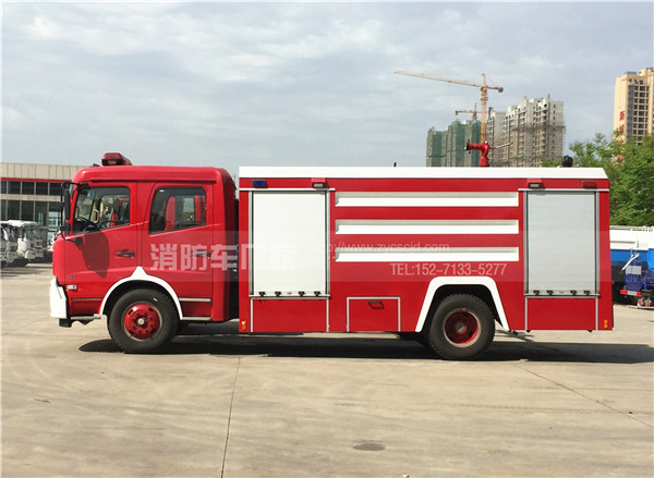 8吨东风天锦水罐消防车
