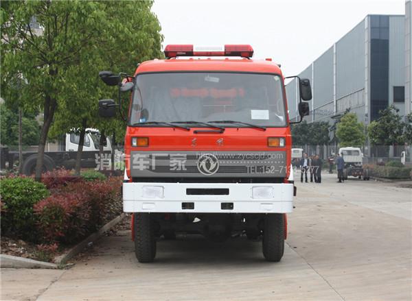 6吨东风153四驱森林水罐消防车