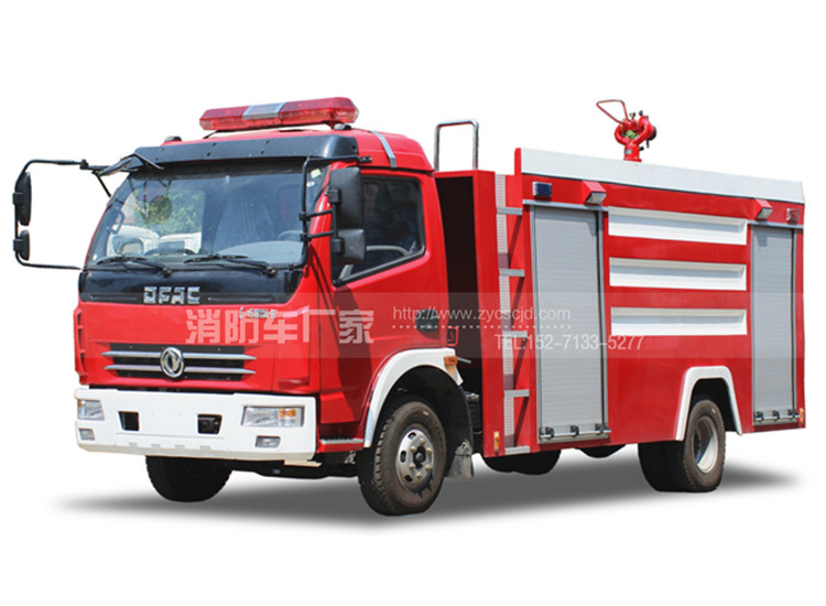 5吨东风多利卡单排水罐消防车