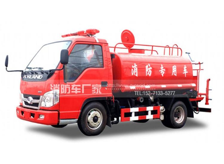 2吨福田微型消防洒水车