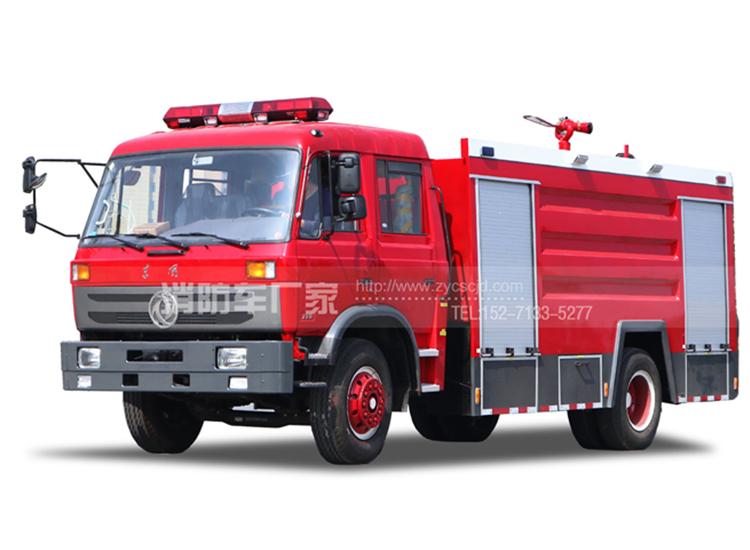 【东风牌】153双排座8吨水罐消防车