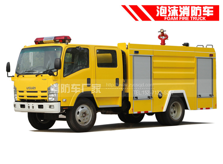 【五十铃】700P 5吨泡沫消防车