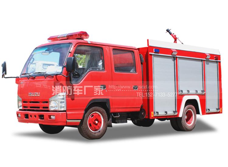 【五十铃】100P 2吨水罐消防车
