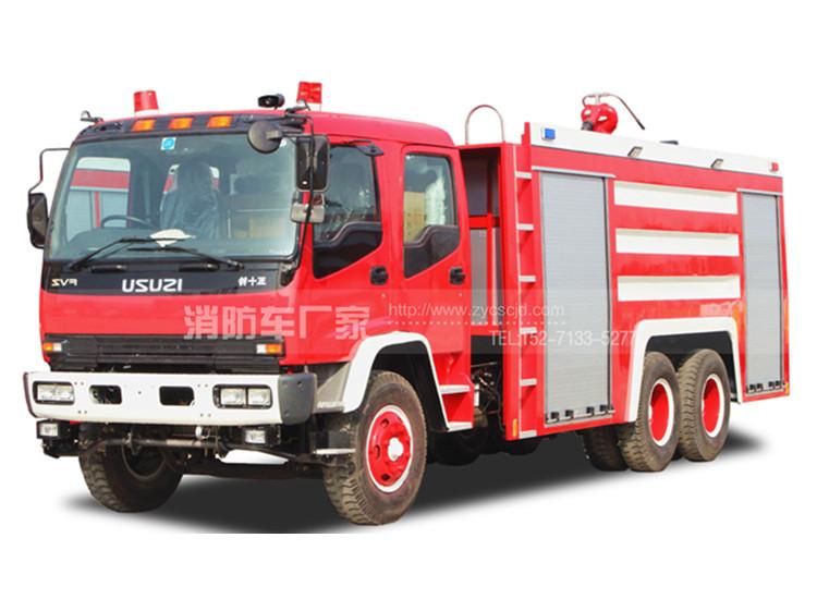 12吨重型水罐消防车【五十铃】