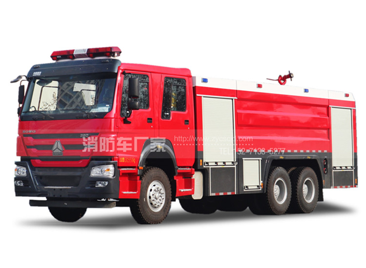 16吨重型水罐消防车【重汽】