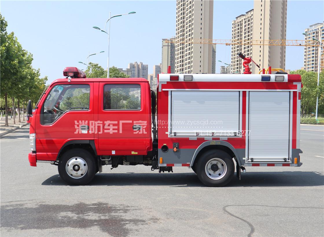 国六五十铃100P水罐消防车