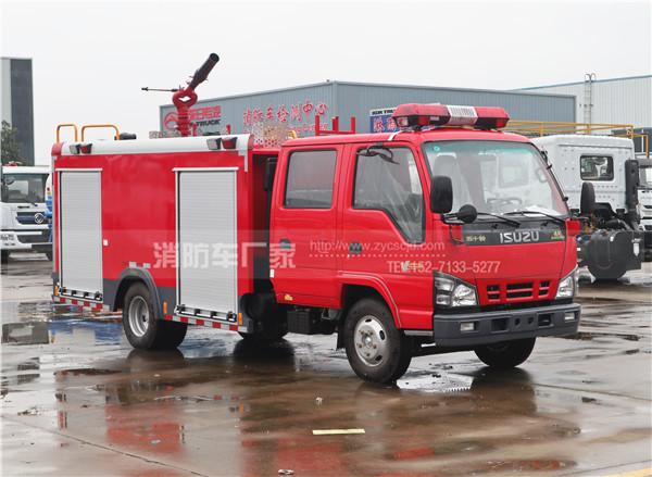 国六五十铃600P 3吨泡沫消防车