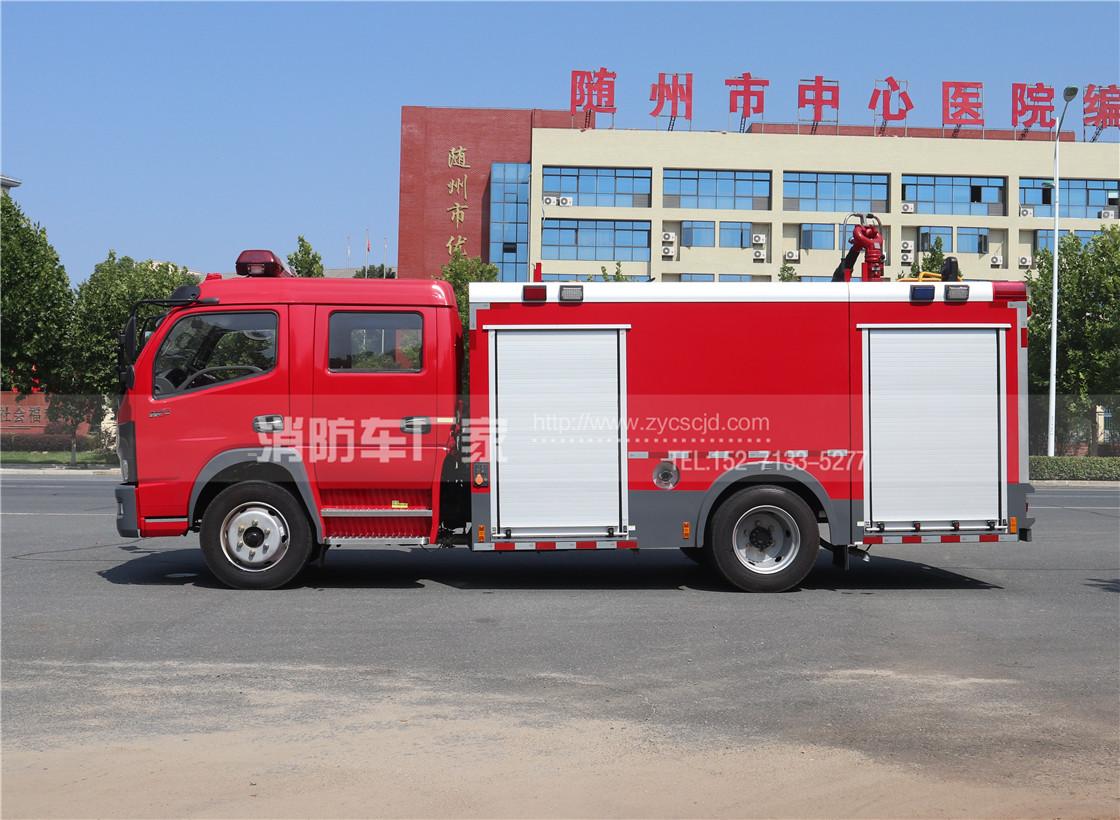 国六东风多利卡5吨泡沫消防车