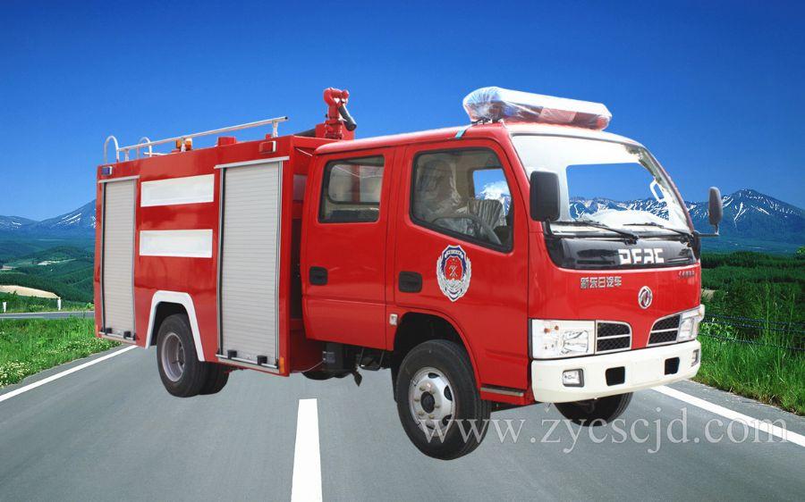 东风福瑞卡水罐消防车