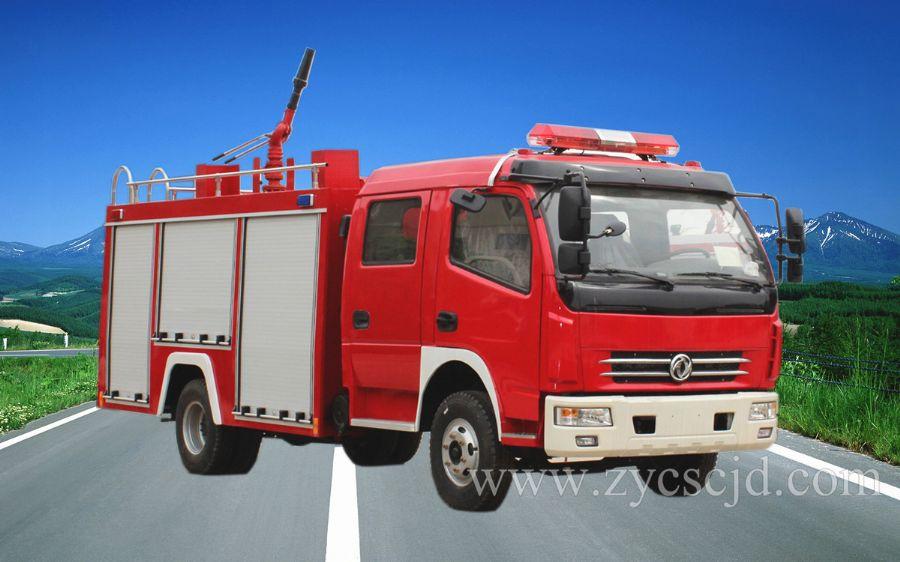 东风多利卡水罐泡沫消防车