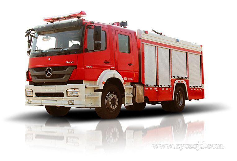 城市主战消防车发展趋势