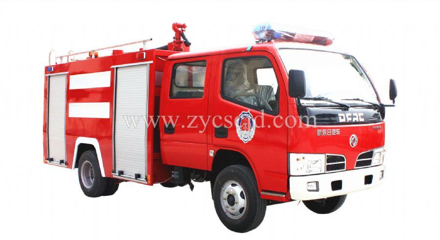东风福瑞卡3吨水罐消防车