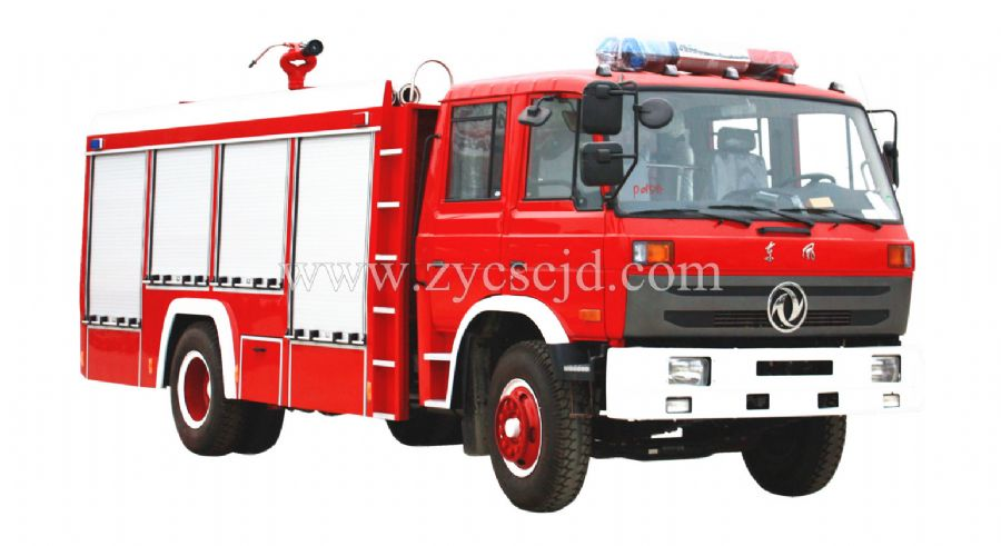 东风153 6吨水罐消防车