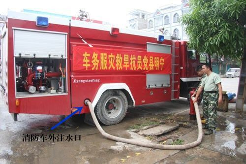 水罐消防车的操作使用步骤