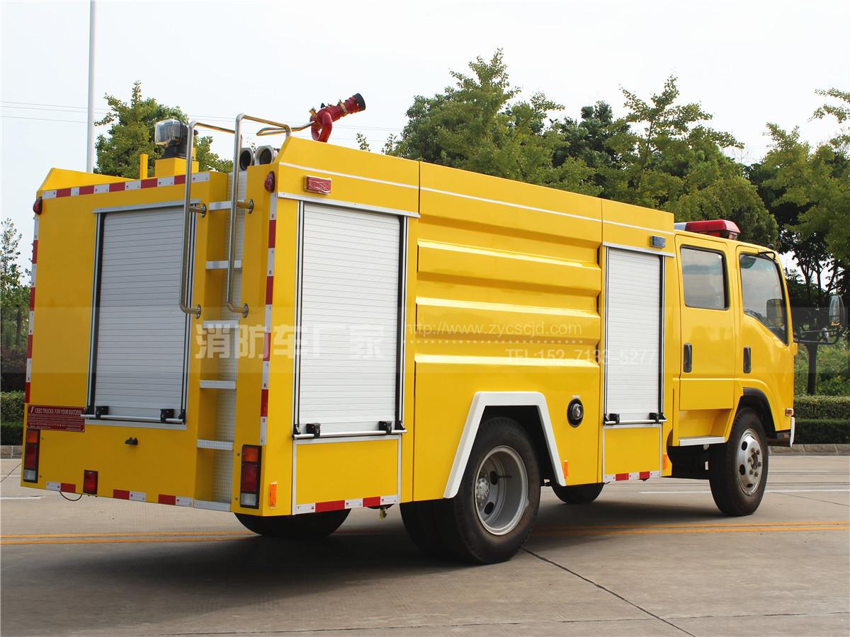 五十铃700P水罐消防车