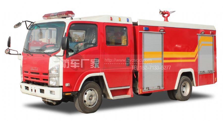 五十铃700P消防车