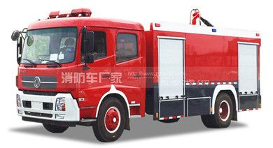 国五东风天锦6吨消防车
