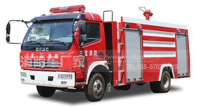 东风多利卡5吨单排消防车