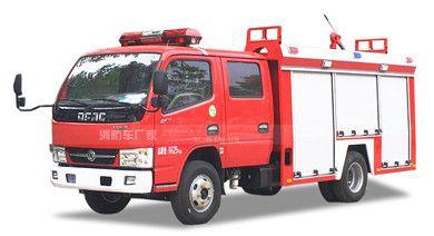 国五东风3吨水罐消防车