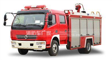 国五东风多利卡4吨消防车