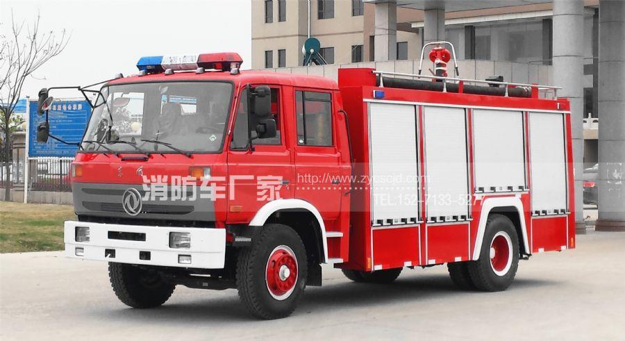 东风、重汽、五十铃消防车质量大比拼