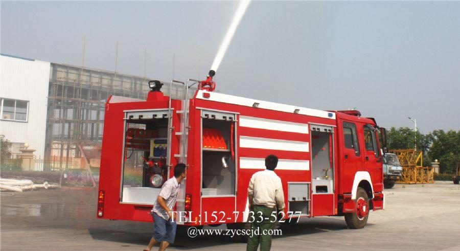 泡沫消防车灭火后如何维护保养