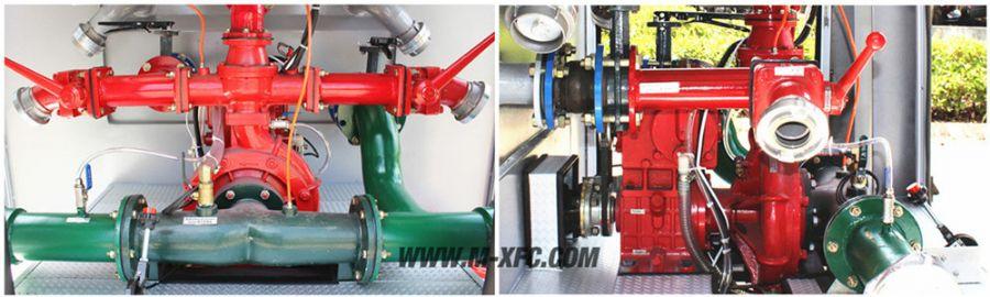 水罐消防车消防泵使用过程中的注意事项及保养
