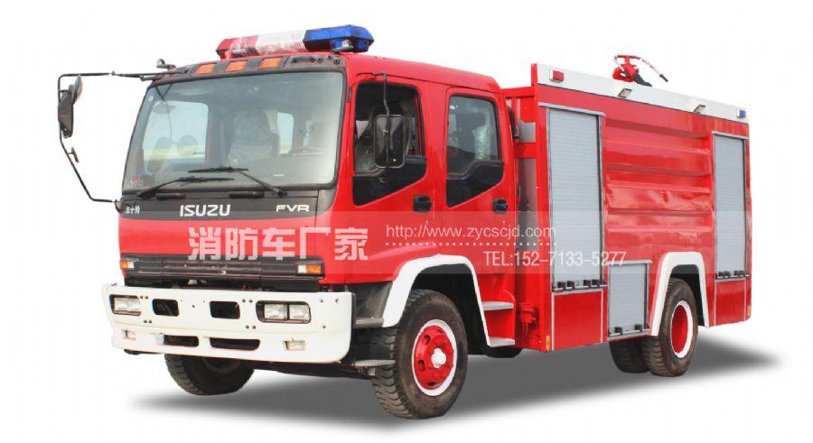 【五十铃】FTR 8吨水罐消防车