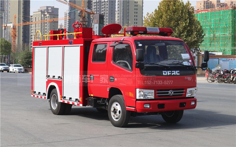新款东风2.5吨水罐消防车高清图片欣赏