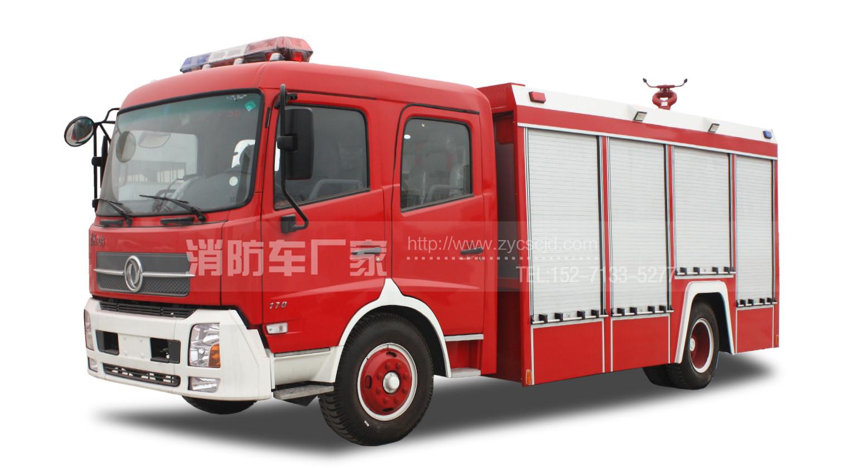 6吨东风天锦水罐消防车
